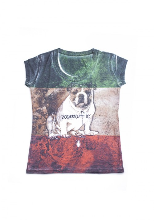 zoomorfic t-shirt donna italy1