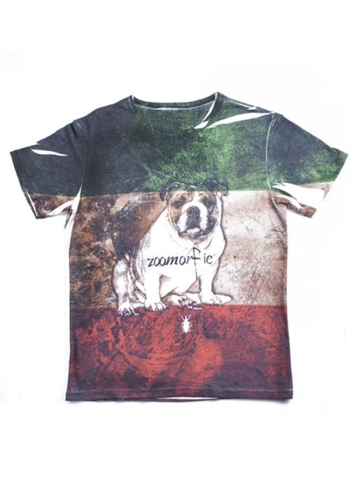 zoomorfic t-shirt uomo  italy