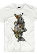 organic t-shirt fish