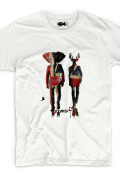 organic t-shirt men zoomorfic