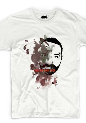 organic t-shirt shutpup zoomorfic